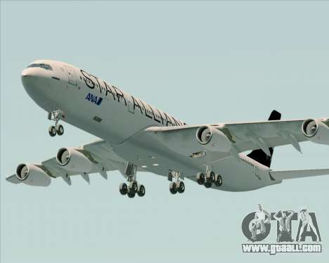 Airbus A340-300 All Nippon Airways (ANA) for GTA San Andreas engine