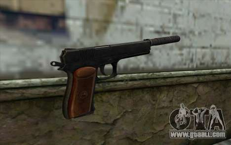 Silenced Colt45 for GTA San Andreas second screenshot