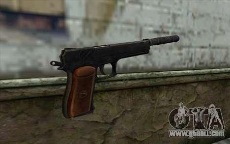 Silenced Colt45 for GTA San Andreas second screenshot