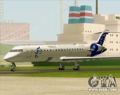 Embraer CRJ-700 China Express Airlines (CEA) for GTA San Andreas left view