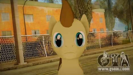 Doctor Whooves from My Little Pony for GTA San Andreas third screenshot