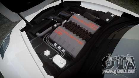 Chevrolet Corvette C7 Stingray 2014 v2.0 TireMi4 for GTA 4 side view
