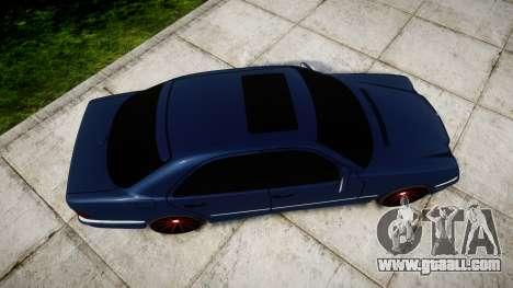 Mercedes-Benz W210 E55 2000 AMG Vossen VVS CVT for GTA 4 right view