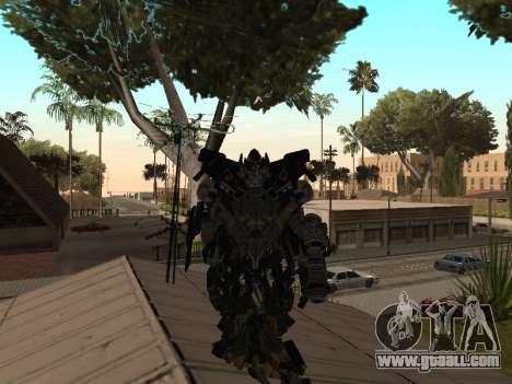 Transformers 3 Dark of the Moon Skin Pack for GTA San Andreas third screenshot