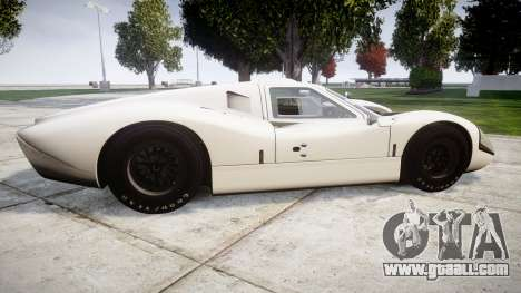 Ford GT40 Mark IV 1967 for GTA 4 left view
