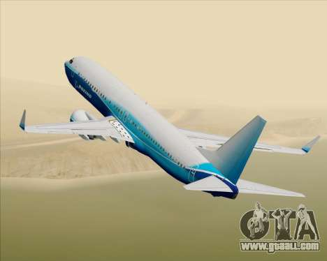 Boeing 737-800 House Colors for GTA San Andreas