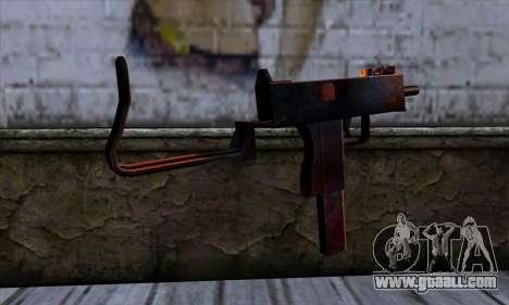 Micro Uzi v2 Rusty-bloody for GTA San Andreas second screenshot