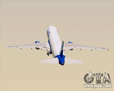 Airbus A320-200 IndiGo for GTA San Andreas
