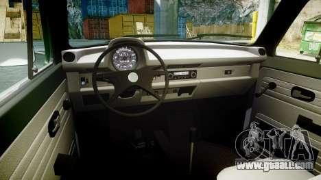 Volkswagen Beetle for GTA 4 back view