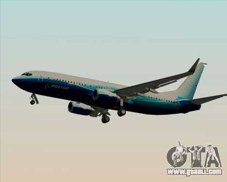 Boeing 737-800 House Colors for GTA San Andreas wheels