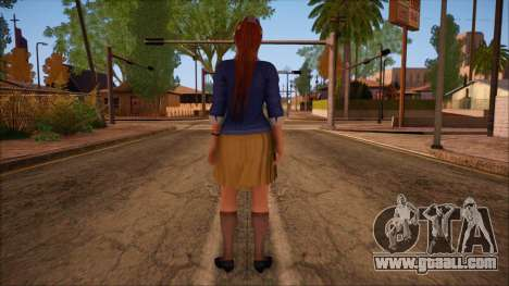 Modern Woman Skin 16 for GTA San Andreas second screenshot