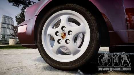 Porsche 911 (964) Targa for GTA 4 back view