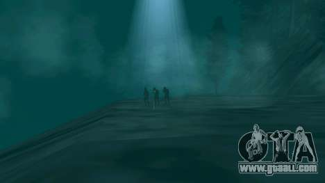 UFO over San Andreas for GTA San Andreas
