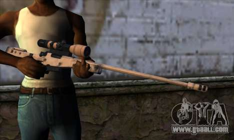 L11A3 Sniper Rifle for GTA San Andreas third screenshot