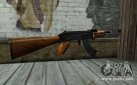 Retextured AK47 for GTA San Andreas second screenshot