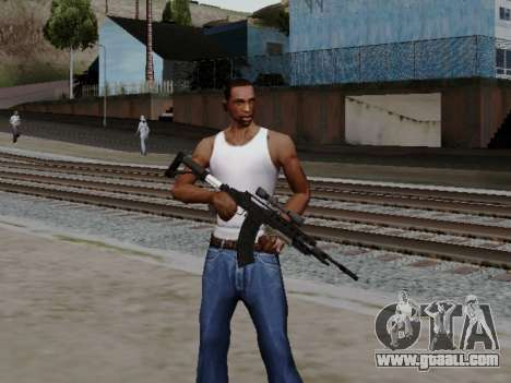 Heavy Sniper Rifle from GTA V for GTA San Andreas