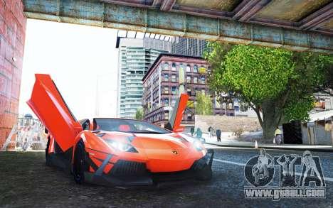 Lamborghini Aventador TZR R-Tech for GTA 4
