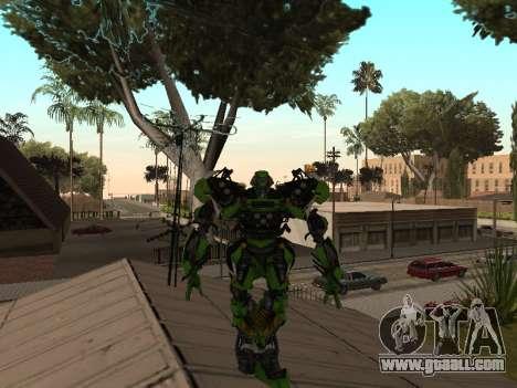 Transformers 3 Dark of the Moon Skin Pack for GTA San Andreas fifth screenshot