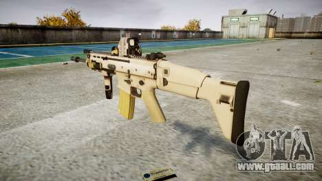 Machine FN SCAR-L Mk 16 target icon1 for GTA 4 second screenshot