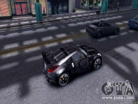 Nissan 350Z Tokyo Drift for GTA 4 inner view