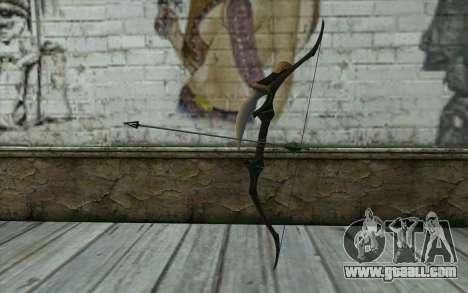 Green Arrow Bow v3 for GTA San Andreas
