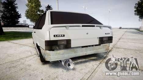 VAZ-2113 Turbo for GTA 4 back left view