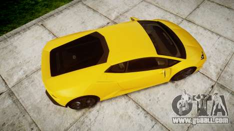 Lamborghini Huracan LP610-4 for GTA 4 right view