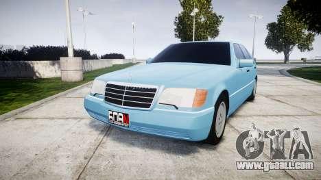 Mercedes-Benz 600SEL W140 for GTA 4