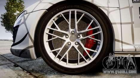 Audi R8 LMX 2015 [EPM] Cobweb for GTA 4 back view