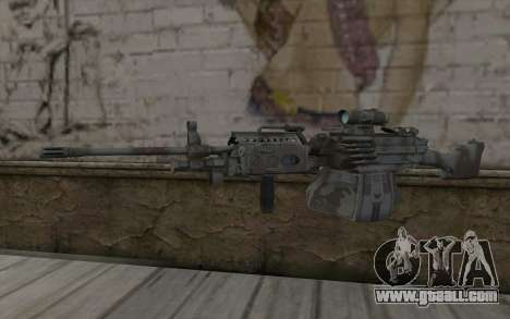 Minigun MK48 for GTA San Andreas