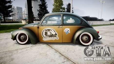 Volkswagen Beetle for GTA 4 left view