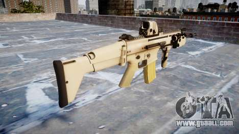 Machine FN SCAR-L Mk 16 icon1 for GTA 4 second screenshot