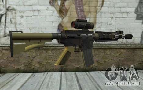 M4 MGS Iron Sight v2 for GTA San Andreas second screenshot
