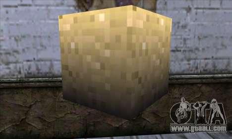 Block (Minecraft) v6 for GTA San Andreas second screenshot