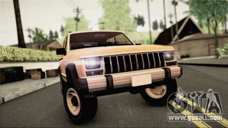 Jeep Cherokee for GTA San Andreas