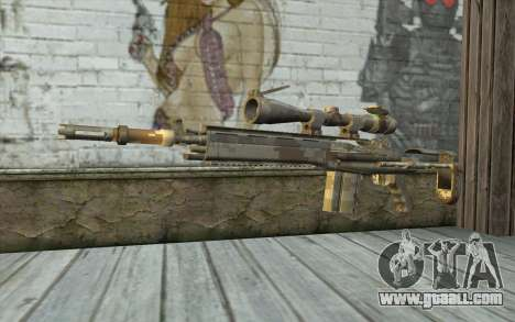 M14 EBR Digidesert for GTA San Andreas