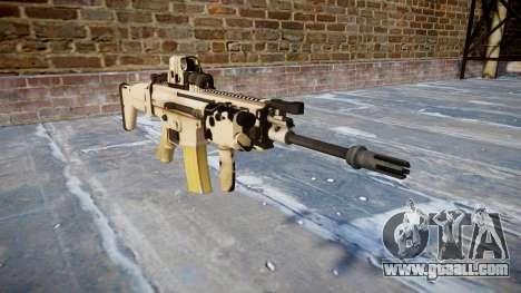 Machine FN SCAR-L Mk 16 icon1 for GTA 4