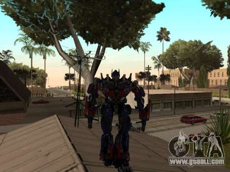 Transformers 3 Dark of the Moon Skin Pack for GTA San Andreas second screenshot