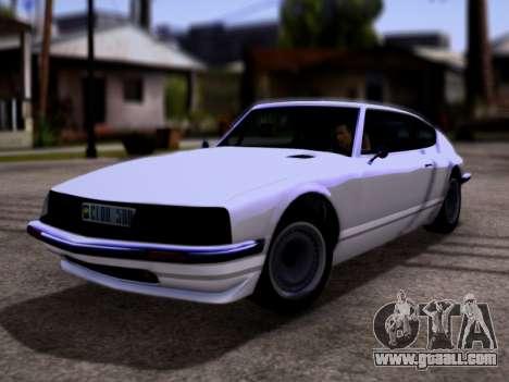 Lampadati Pigalle GTA V for GTA San Andreas