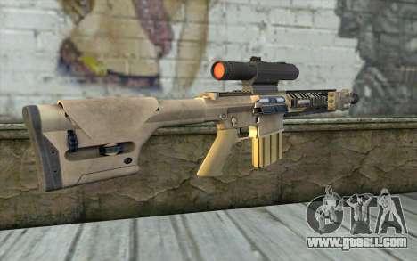 M110 Cuarter Combat Rifle for GTA San Andreas second screenshot