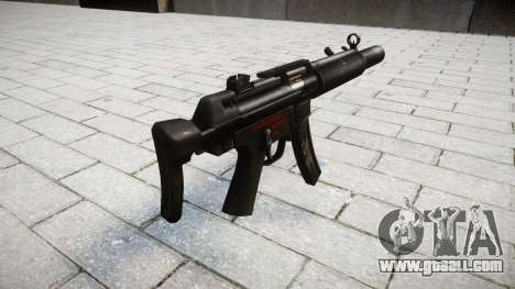 Gun MP5SD RO CS for GTA 4 second screenshot