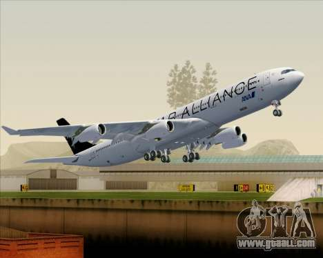 Airbus A340-300 All Nippon Airways (ANA) for GTA San Andreas