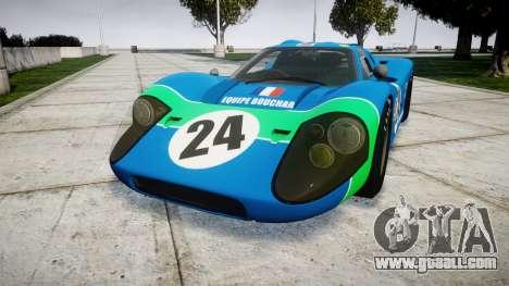 Ford GT40 Mark IV 1967 PJ Equipe Bouchard 24 for GTA 4