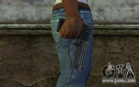 Desert Eagle Standart v2 for GTA San Andreas third screenshot