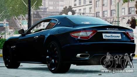 Maserati Granturismo 2012 for GTA 4 left view