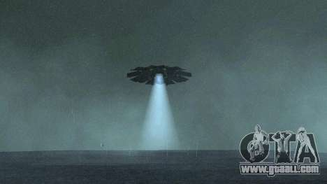 UFO over San Andreas for GTA San Andreas second screenshot