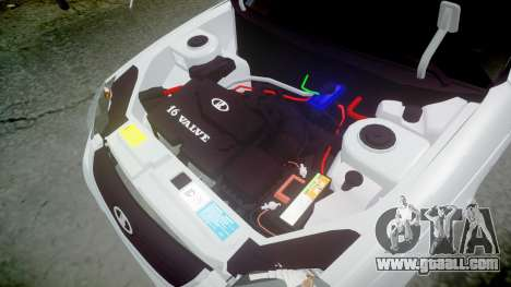 ВАЗ-2170 high quality for GTA 4 side view
