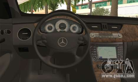 Mercedes-Benz CLS 500 for GTA San Andreas back left view