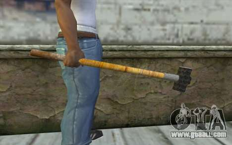 Sledge Hammer for GTA San Andreas third screenshot