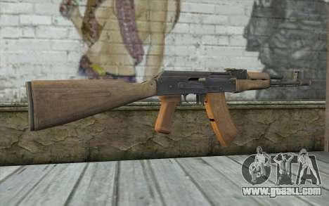 AK-74 Standart for GTA San Andreas second screenshot